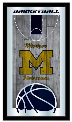 Michigan Wolverines Basketball Mirror