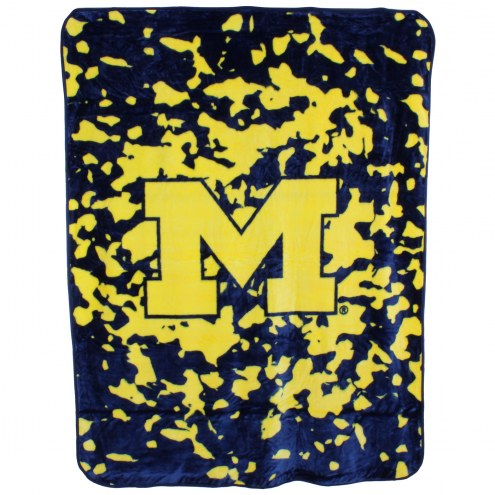 Michigan Wolverines Bedspread
