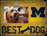 Michigan Wolverines Best Dog Clip Frame