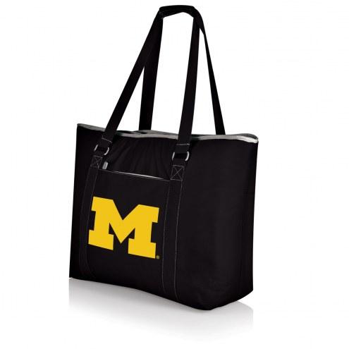 Michigan Wolverines Black Tahoe Beach Bag
