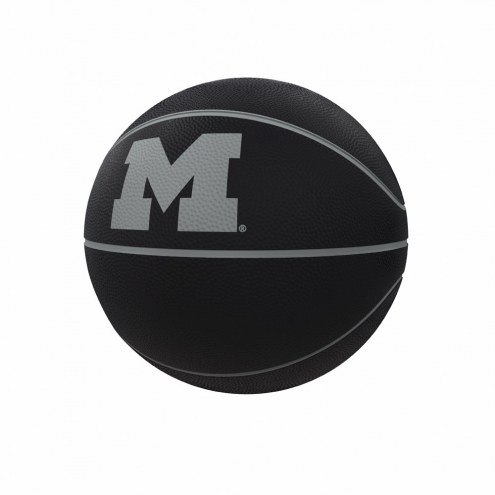 Michigan Wolverines Blackout Full-Size Composite Basketball