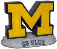 "Michigan Wolverines ""Block M Go Blue"" Stone College Mascot"