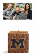 Michigan Wolverines Block Spiral Photo Holder