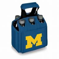 Michigan Wolverines Blue Six Pack Cooler Tote
