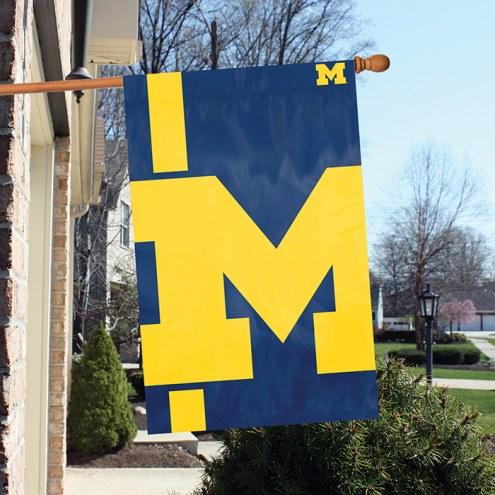 Michigan Wolverines Bold Logo Banner