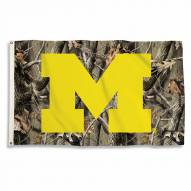 Michigan Wolverines 3' x 5' Camo Flag