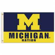 Michigan Wolverines Nation Premium 3' x 5' Flag