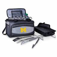 Michigan Wolverines Buccaneer Grill, Cooler and BBQ Set