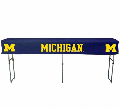 Michigan Wolverines Buffet Table & Cover