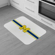 Michigan Wolverines Burlap Comfort Mat