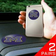 Michigan Wolverines Cell Phone Grips - 2 Pack