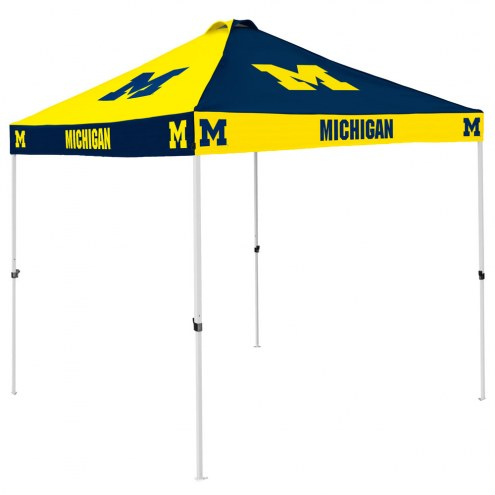 Michigan Wolverines 9' x 9' Checkerboard Tailgate Canopy Tent