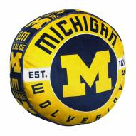 Michigan Wolverines Cloud Travel Pillow