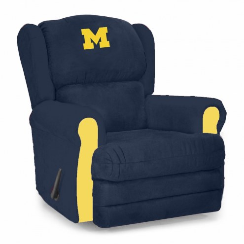 Michigan Wolverines Coach Recliner