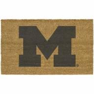 Michigan Wolverines Colored Logo Door Mat