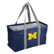 Michigan Wolverines Crosshatch Picnic Caddy