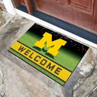Michigan Wolverines Crumb Rubber Door Mat