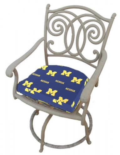 Michigan Wolverines D Chair Cushion