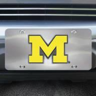 Michigan Wolverines Diecast License Plate