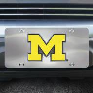 Michigan Wolverines Diecast License Plate