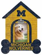 Michigan Wolverines Dog Bone House Clip Frame
