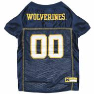Michigan Wolverines Dog Football Jersey