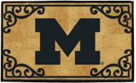 Michigan Wolverines Door Mat