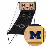 Michigan Wolverines Double Shootout Basketball Game