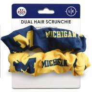 Michigan Wolverines Dual Hair Scrunchie