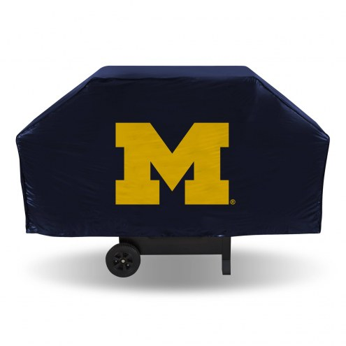Michigan Wolverines Economy Grill Cover
