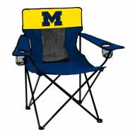 Michigan Wolverines Elite Tailgating Chair