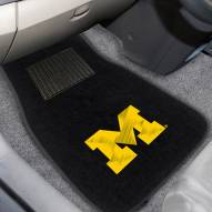 Michigan Wolverines Embroidered Car Mats
