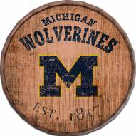 "Michigan Wolverines Established Date 24"" Barrel Top"