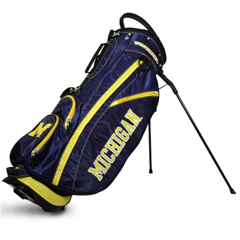 Michigan Wolverines Fairway Golf Carry Bag