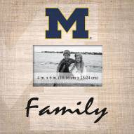 Michigan Wolverines Family Picture Frame