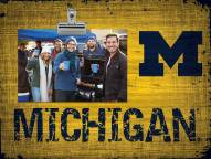 Michigan Wolverines Wood Clip Frame
