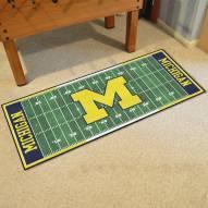 Michigan Wolverines Football Field Runner Rug