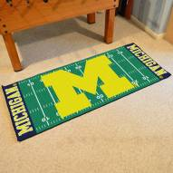 Michigan Wolverines Football Field Runner Rug