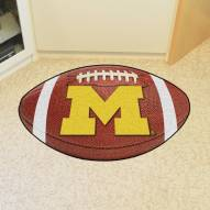 Michigan Wolverines Football Floor Mat