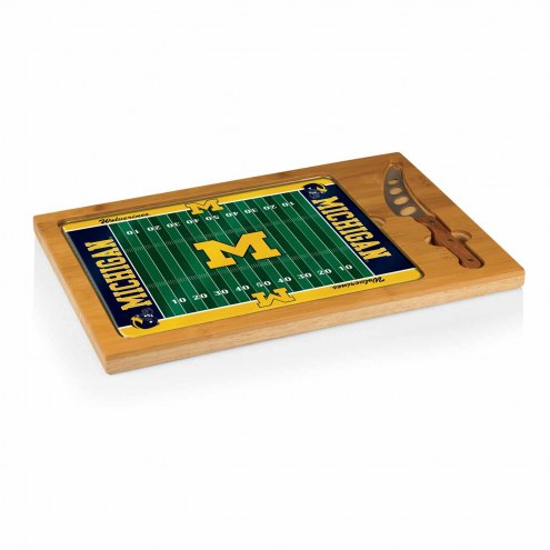 Michigan Wolverines Football Icon Cutting Board