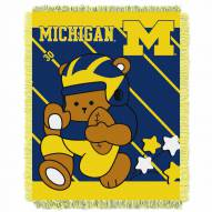 Michigan Wolverines Fullback Baby Blanket