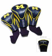Michigan Wolverines Golf Headcovers - 3 Pack