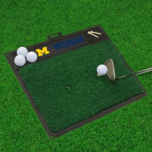 Michigan Wolverines Golf Hitting Mat