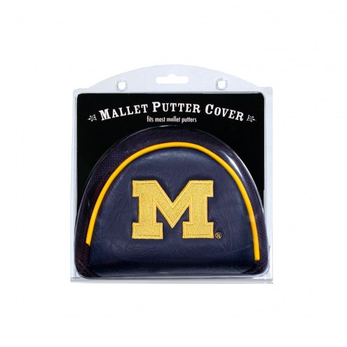 Michigan Wolverines Golf Mallet Putter Cover
