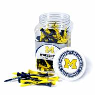 Michigan Wolverines 175 Golf Tee Jar