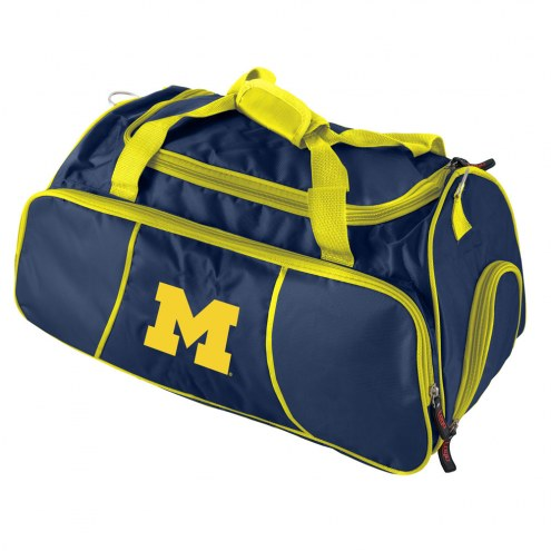 Michigan Wolverines Gym Duffle Bag