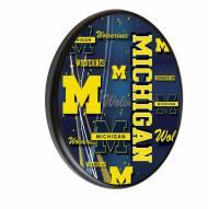 Michigan Wolverines Digitally Printed Wood Sign