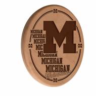 Michigan Wolverines Laser Engraved Wood Sign
