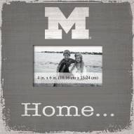Michigan Wolverines Home Picture Frame