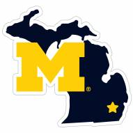 "Michigan Wolverines Home State 11"""" Magnet"